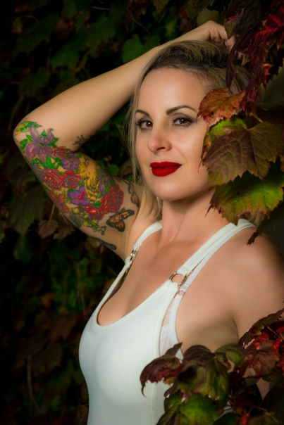 Leshy At The Gardens -Photographer: Lance McCaughan -Model: Leshy Turner -Location: Hamilton Gardens