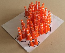 c-Road cones for Africa