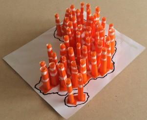 c-Road cones for Africa