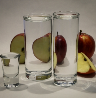 a-Apples through the Drinking Glass
