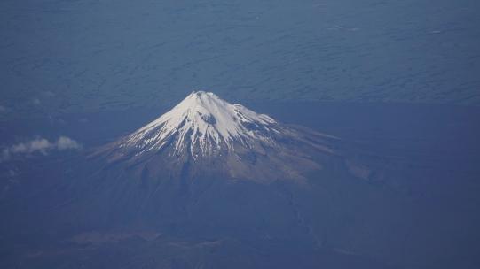 c-Mt. Taranaki from Above