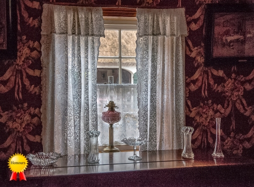 a-Lace Covered Window