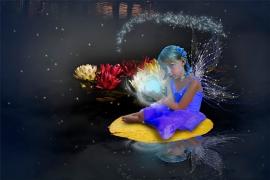 ari and her magic light