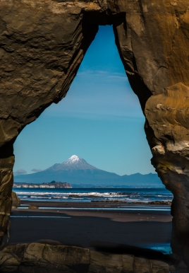 Mt Egmont Framed