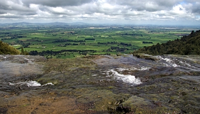 b-Green-pastures-seen-from-the-top-of-Wairere-Falls