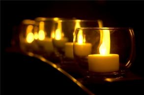 a-candlelit