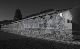 a-ghost train at Te Aroha