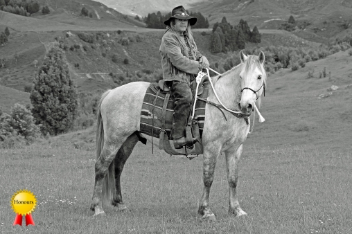 B-Man and his Horse