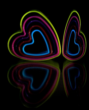 a-heart shapes