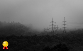 A-pylons in fogHonours
